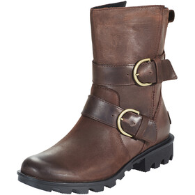 Sorel Phoenix Moto Boots Women brown
